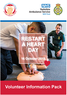 Restart a Heart Volunteer Information Pack
