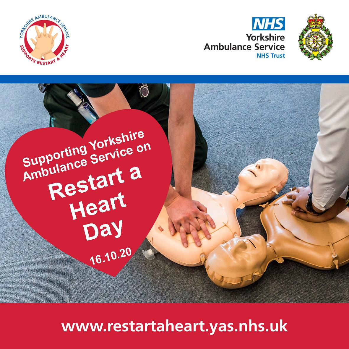 Download: Supporting Yorkshire Ambulance Service on Restart a Heart Day