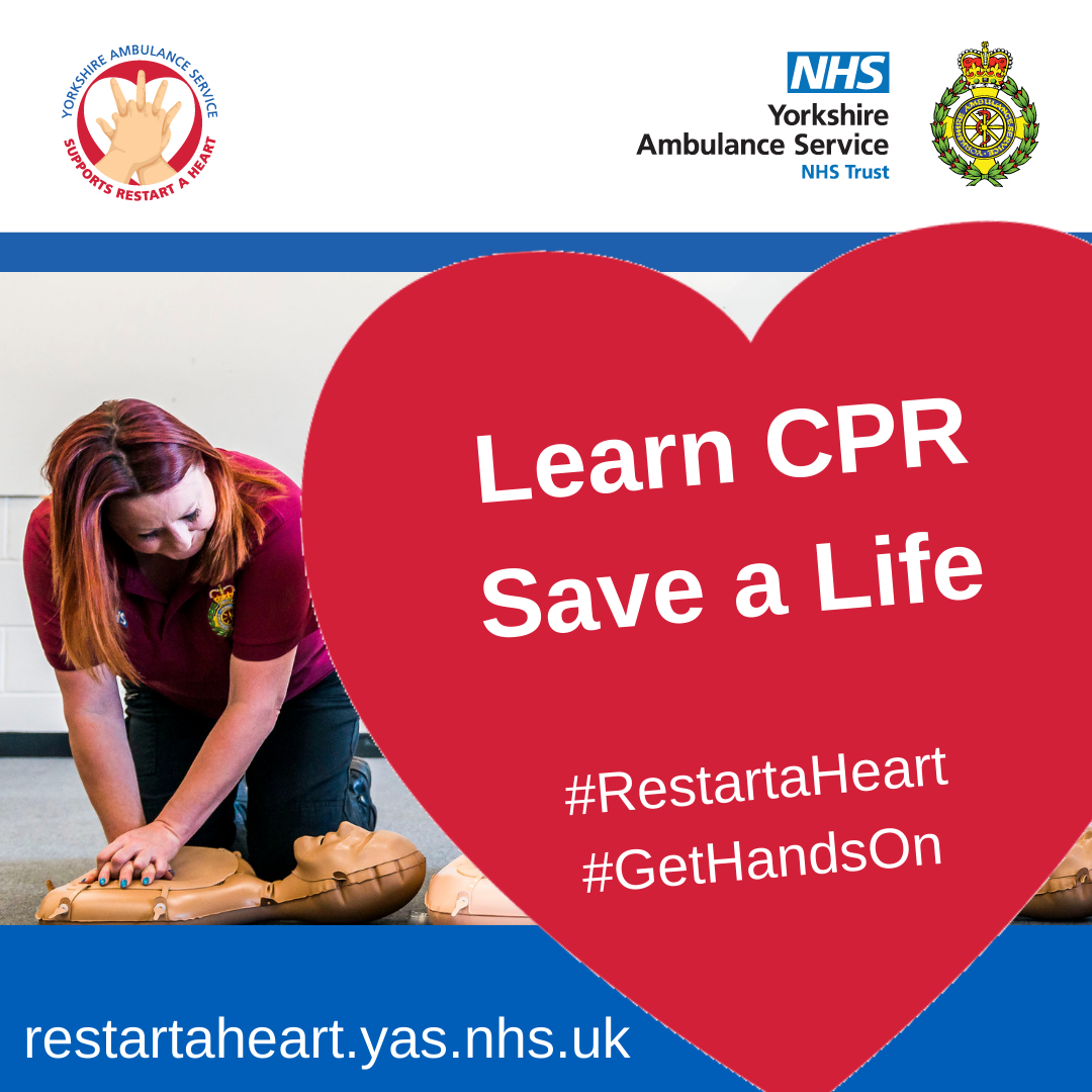 Download: Learn CPR Save a Life Poster